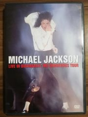 Michael Jackson DVD live in