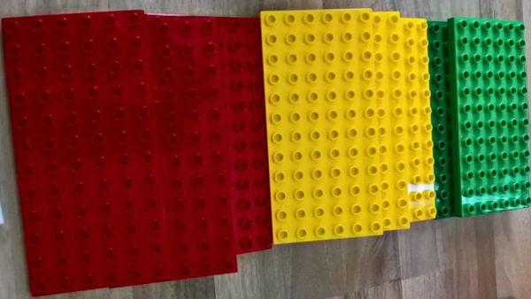 Lego Duplo Bauplatte 6x12 Noppen