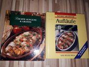 2 Kochbücher Aufläufe