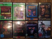 Computerspiele 8 Stück