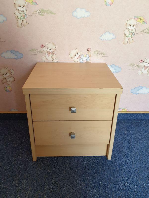 Bürocontainer mit zwei Schubladen