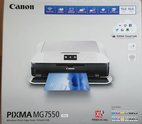 Canon Drucker Pixma MG7550 WLAN