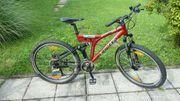 Univega Mountainbike Fully kleiner Rahmen
