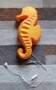 Seepferdchen Wandlampe von IKEA incl