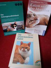 Tierpsychologie Katze 3 Bücher wie
