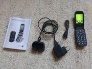 Doro Phone Easy 612 - Schwarz