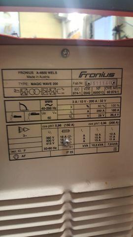 Produktionsmaschinen - Fronius Magic Wave 200 AC