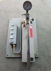 Hydraulik Handpumpe