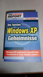 Die besten Windows XP Geheimnisse