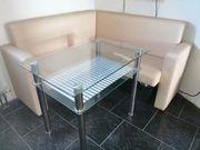 Eckbank mit Glastisch 1 48