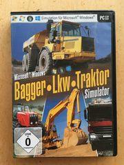 PC SPIEL BAGGER LKW TRAKTOR