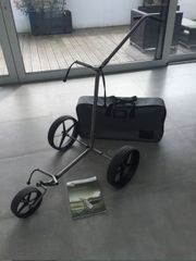 Ticad Andante Golftrolley mit Koffer