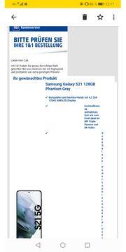 Samsung Galaxy S21 128GB Phantom