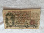 10 Schilling 1946 zu verkaufen