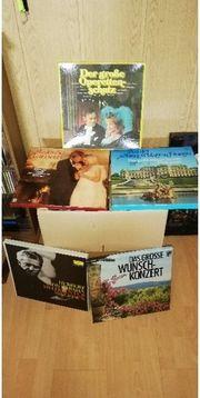 100 Stk Klassik-Schallplatten aus Club-Sammlungen