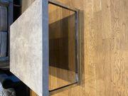 Grauer moderner Wohnzimmertisch 107 x