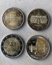 Tausche 2 Euro Stücke Bundesländer