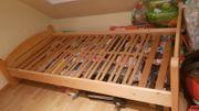 Holzbetten 100x200 zwei mal mit