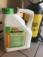 Unkrautvernichter Roundup nur an Berechtigte