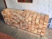 315 antike rötlich bunte Backsteine