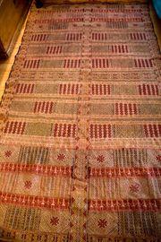 2 Teppiche 1x Marokko-alt 230x124cm