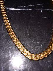 Gold Kette 24k Halskette Classic