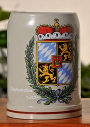 Steinkrug 1 2 Liter Kurfürstentum