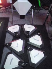 Paar Roland E-Drum Raritäten