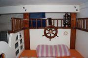 Kinder-Piratenhochbett