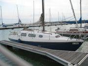 Segelyacht Neptun 29 mit Mercedes