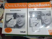 2 Handbücher Quick Books Ausgabe