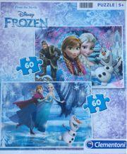 Anna und Elsa Puzzle