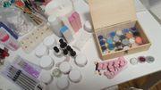 Acrylnägel und Gelnägel Set