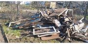Holz baum zu verschenken