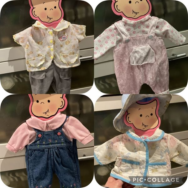 Baby born Kleider Sets