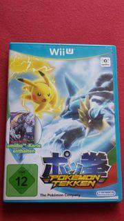 Verkaufe Pokemon Tekken für Wii
