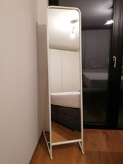 IKEA Standspiegel Stummer Diener weiß