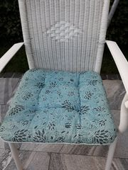 5 Sitzpolster blau