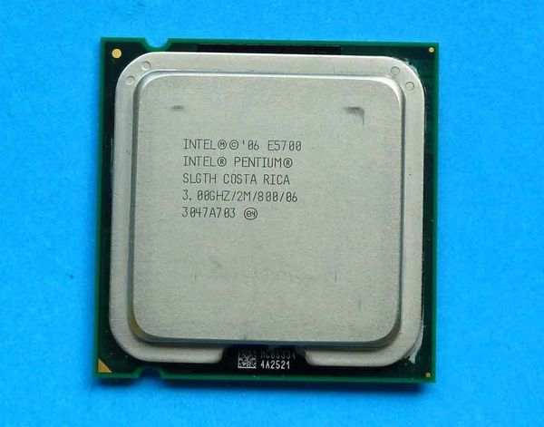 Intel Pentium Dual-Core E5700 2x