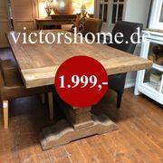 Klostertisch Esstisch Hartholztisch Küchentisch 240