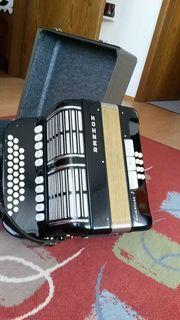 Hohner Knopfharmonika umständehalber