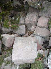 Sandsteine - große Bruchsteine