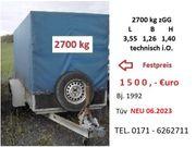 PKW-Anhänger 2 7 t zGG