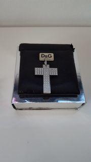 Dolce Gabbana - Unisex Kreuz Halskette