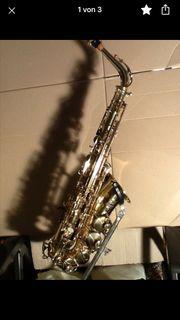 Suche Selmer Saxophon Alt Sopran