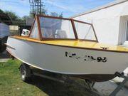 Ein kleiner Sommertraum- gepflegtes Holzboot