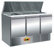 Saladette Belegstation Kühltisch 1365x700x850 mm