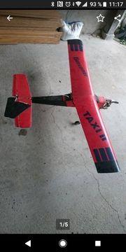 Modellflugzeug Verbrenner Graupner Oldtimer