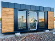 Bürocontainer Pavillon Modulhaus Transport kostenlos