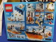 Lego Küstenwache Set Hubschrauber Schiff